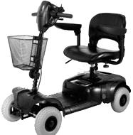 Veicoli elettrici per disabili modello COMODO